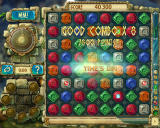 The Treasures of Montezuma 3 Windows Time's up! 40,300 points! Notice that I got a great bonus for a combo. I almost filled up the sand bar at the bottom which adds more points.