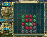 "The Treasures of Montezuma 3 Windows The first bonus mini-game is pretty easy.  Clear all tokens. The ""steel"" ones can't be removed, but they aren't stuck in place. They can be used in swapping tiles for matches."
