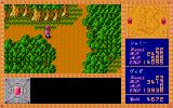 Branmarker Sharp X68000 Forest dungeon