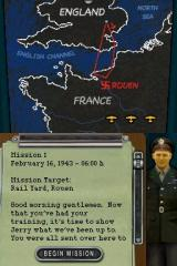 B-17: Fortress in the Sky Nintendo DS Mission Briefing