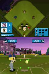Backyard Baseball '09 Nintendo DS ...and where you want to place the pitch.