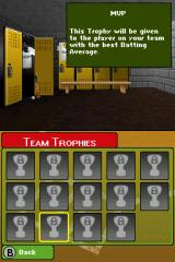 Backyard Baseball '09 Nintendo DS My trophy collection! Notably empty...