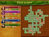 Carcassonne iPad Example of a final scoring screen.