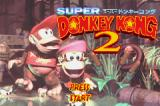 Donkey Kong Country 2: Diddy's Kong Quest Game Boy Advance Title screen (Japanese version)