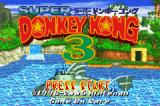 Donkey Kong Country 3: Dixie Kong's Double Trouble! Game Boy Advance Japanese title screen