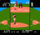 Tecmo Baseball NES First pitch