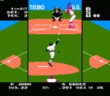 Tecmo Baseball NES Down 2-0