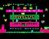Citadel BBC Micro Another title screen