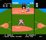 Tecmo Baseball NES Connecting to a fastball