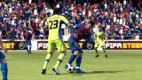 FIFA Soccer 12 Windows The smaller player puts on its side preparing for collision.