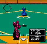 Base Wars - Cyber Stadium Series NES Another motorcycle swings at the ball