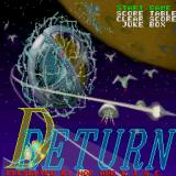 D-Return Sharp X68000 Title screen