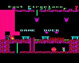 Citadel BBC Micro Game over
