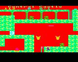 Citadel BBC Micro Take to much damage and the screen goes red and you are teleported back to the start of the screen