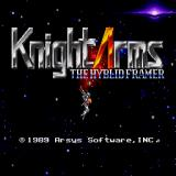 Knight Arms: The Hyblid Framer Sharp X68000 Title screen