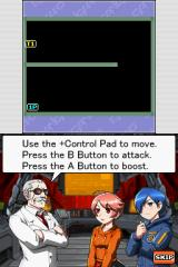 Bangai-O Spirits Nintendo DS The Professor runs you through a number of tutorial missions