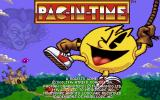 Pac-in-Time DOS Title Screen