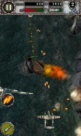 Air Attack Android Volcano level. Beware of lava rocks!