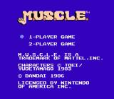 M.U.S.C.L.E. NES Title Screen
