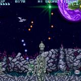 Scorpius Sharp X68000 Lovely backgrounds. Deadly turrets