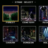 Undead Line Sharp X68000 Stage selection