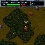 Undead Line Sharp X68000 First level. Pesky bugs. Life seems good