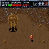 Undead Line Sharp X68000 Boss battle. I throw axe in the wrong direction