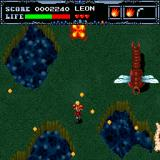 Undead Line Sharp X68000 Much bigger insects appear