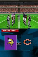 Madden NFL 2005 Nintendo DS Coin toss for first possession.