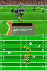 Madden NFL 2005 Nintendo DS If your offensive line breaks down, this can happen.