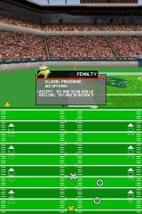 Madden NFL 2005 Nintendo DS Break the rules and the ref will dock you yardage.