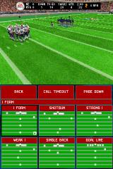 Madden NFL 2005 Nintendo DS Between snaps, you get to choose your next play.