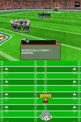 Madden NFL 2005 Nintendo DS Timeouts are essential to managing the clock late in a quarter.
