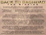 Back to Baghdad DOS The plot