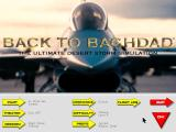 Back to Baghdad DOS Main menu