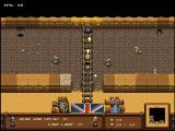 The Humble Bundle Mojam Windows Catacomb Snatch: placing a bomb to blow up the barrier.