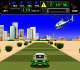 Jaleco Rally: Big Run - The Supreme 4WD Challenge SNES Racing in Tripoli