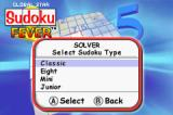 Sudoku Fever Game Boy Advance Sudoku Solver