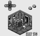 Altered Space: A 3-D Alien Adventure Game Boy First Room