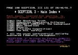 The Big Sleaze Commodore 64 Sceptical 3's main index