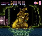 Super Metroid SNES Here's the entrance to Tourian, guarded by the Golden Statues