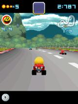 Pac-Man Kart Rally 3D J2ME And they're off