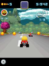 Pac-Man Kart Rally 3D J2ME Pellets can be picked up