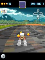 Pac-Man Kart Rally 3D J2ME Using the speed boost