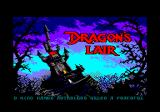 Dragon's Lair Amstrad CPC Title screen and opening story