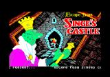 Dragon's Lair Part II: Escape from Singe's Castle Amstrad CPC Title screen and credits