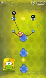 Cut the Rope Android Tap those wind-makers fast!