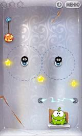 Cut the Rope Android Foil box. Beware of the electricity
