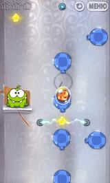 Cut the Rope Android Blow hard to protect that candy!