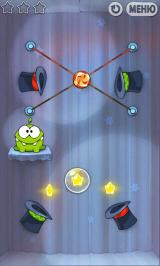 Cut the Rope Android The magic box introduces hat portals.